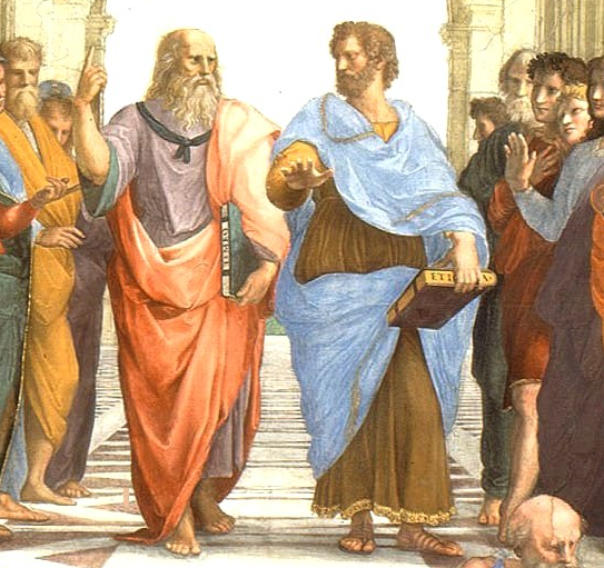 Plato and Aristotle in the Academy
