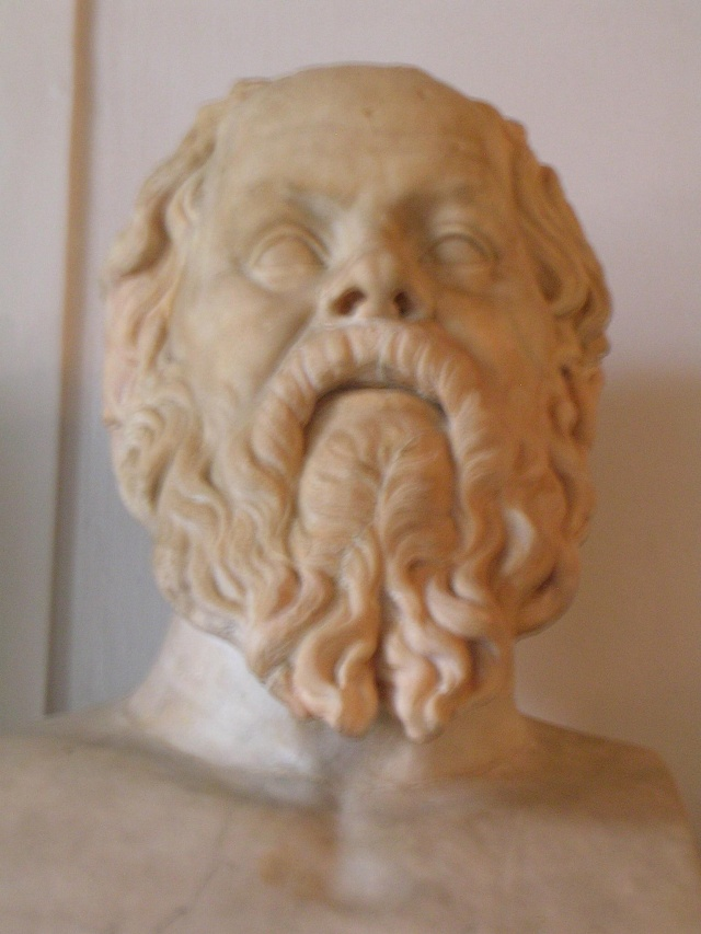 Socrates from the Hall of the Philosophers in the Capitoline Museum